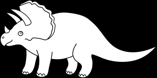 Coloriage dinosaure herbivore