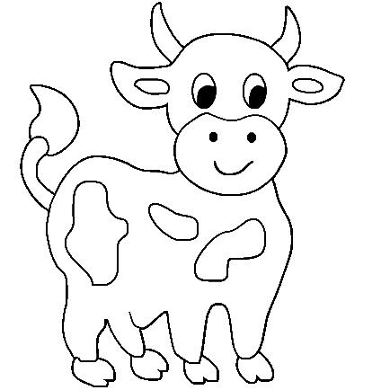 Coloriage a imprimer vache