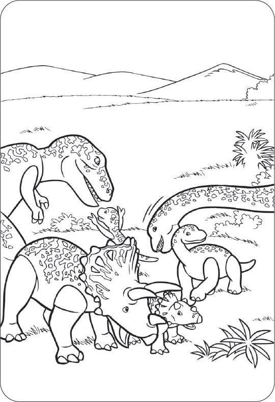 Coloriage Playmobil Dinosaure 1001 Animaux