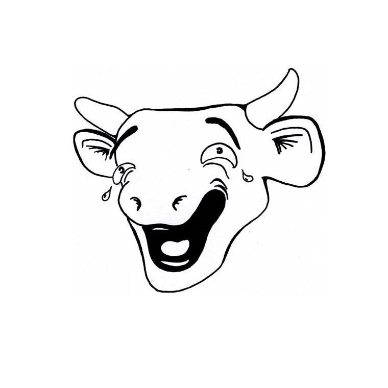 Coloriage vache kiri